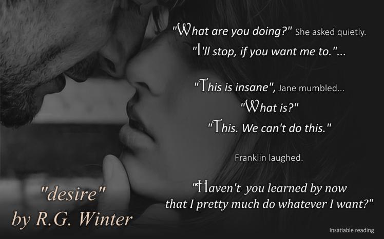 Desire by R.G. Winter